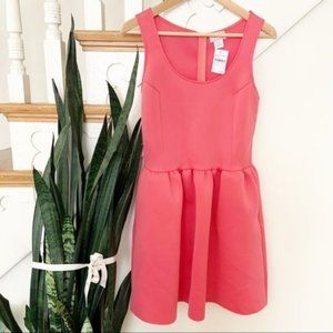 Love...Ady by Nordstrom coral fit & flare mini dre